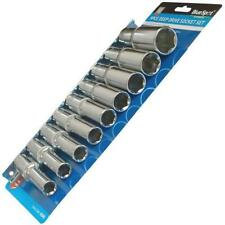 "Deep Socket Set 1/2 ""square drive 9PZ Metrica 10mm - 22mm BlueSpot 01541"
