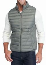 Saddlebred - Men's XXL - Gray-Green Sage Light Weight Packable Down Puffer Vest