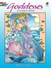 Dover GODDESSES Adult Coloring Book Marty Noble 2012