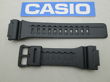 Genuine Casio AQ-S810W black resin rubber watch band strap 18mm lug