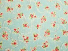 2 Yard Length Cottage Chic & Shabby Mary Rose Sweet Charms MR2150-12B Blue