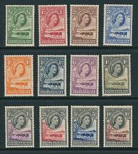 Bechuanaland Protectorate 1955 SG 143-53 LMM
