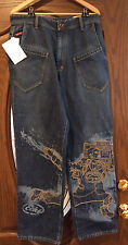 ecko unltd mens 32 x 32 loose fit denim jeans  NWT's
