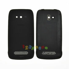 REAR BACK DOOR HOUSING BATTERY COVER FOR NOKIA LUMIA 610 #H-598_BLACK