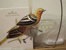 Hallmark 2011 Lady Oriole The Beauty of Birds Complement to Series Ltd Qty