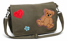FIREFLY SERENITY KAYLEE SHOULDER MESSENGER LAPTOP BAG PURSE TEDDY BEAR HEART