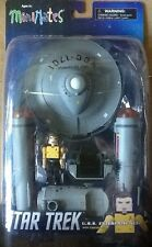 Star Trek Minimates U.S.S Enterprise Vehicle with Capt Kirk in Yellow MINT
