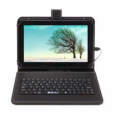 "iRULU 9"" Android 4.4 GMS Quad Core 3G WIFI BT 4.0 Tablet PC & Leather Keyboard"