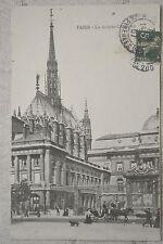 """CPA """" PARIS - La Sainte Chapelle"""