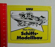 Aufkleber/Sticker: UHU Mein Hobby - Schiffsmodellbau (23041631)