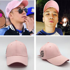 BIGBANG G-DRAGON GD SEUNGRI MADE TOUR PINK CAP SNAPBACK HAT KPOP NEW