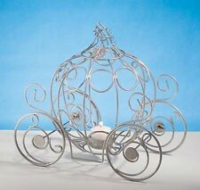 New Cinderella Fairytale Fairy Tale Pumpkin Coach Carriage Table Centerpiece