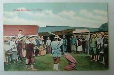VINTAGE CHINESE POSTCARD EXECUTION OF A PIRATE CHINA #44f5