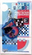 Gundam 00 Setsuna Fastener Accessory May Metal Charm Anime Manga Game MINT
