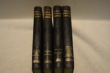 Vintage Set Of 4 Public Speaking Library Books, R. E. Pattison Kline, 1916