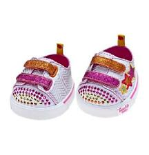 Build a Bear Retired Skechers Triple Up Tennis Shoes  - NEW