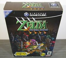 Legend of Zelda: Four Swords Adventures [Bundle] (GameCube) BRAND NEW. RARE