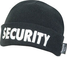 Sicurezza Bob Hat PORTIERE WATCH Beanie PATROL Guard Bouncer Woolen Thinsulate Cappello