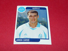 194 JÜRGEN CAVENS OLYMPIQUE MARSEILLE OM PANINI FOOT 2002 FOOTBALL 2001 2002