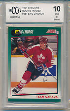 1991 Score Rookie & Traded Eric Lindros (#88T) BCCG10 BCCG