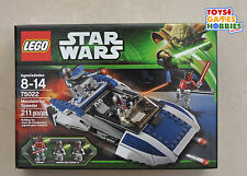 *NEW* LEGO Star Wars Mandalorian Speeder 75022 Darth Maul Clone Wars Commando
