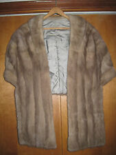 Gorgeous Mink Vintage Shrug Wrap will keep you warm and stylish all year long!!!