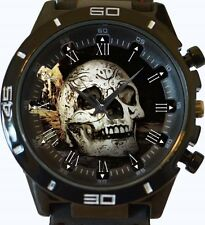 Gothic Skull New Gt Series Sports Unisex Gift Watch