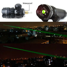 Hot Sale Green Laser Sight Rifle Dot Scope Switch Picatinny Rail Barrel Mounts
