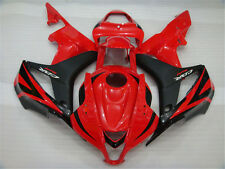 Plastic Injection Red Black Fairing Fit for Honda 2007 2008 CBR600RR s05
