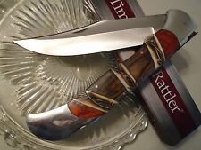 "Timber Rattler Giant Scarab II Folding Lockback Bowie Pocket Knife TR139 18"" Op"
