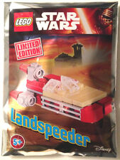 NEW LEGO LANDSPEEDER FOIL PACK 911608 sealed polybag star wars set luke RARE