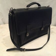 SACOCHE Bridle Harness Belting Saddle Leather Briefcase Bag - Made In USA