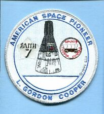 NASA SPACE MISSION PATCH ASTRONAUT GORDON COOPER MERCURY FAITH 7 GEMINI 5
