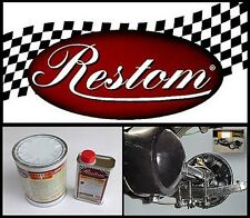 PEINTURE EPOXY RESTON EAF 2092 NB ANTICORROSION SÉCHAGE AIR. NOIR BRILLANT. AUTO
