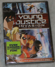 Young Justicia: Invasion Juego de Illusions: Temporada 2 Parte 2 DVD Box Set