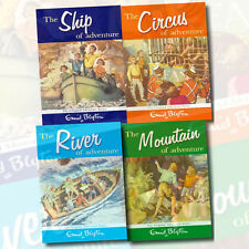 Enid Blyton The Adventure Series 4 Books,The Ship of Adventure,The Circus New PB