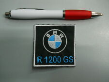 toppa patch BMW MOTORRAD R 1200 GS  emblem embroidery ricamato termoadesivo 6x6