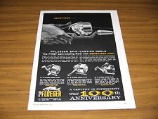 1964 Print Ad Pflueger Fishing Reels Galaxie,Polaris,Saturn Enterprise Akron,OH