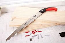 """New 35cm 14"""" Blade Hand Saw Wood Cut DIY Furniture Pruning Cutting Tool"""