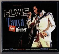 Elvis Presley CD Tanya For Dinner - Live in Las Vegas 1975 - NEU
