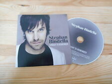 CD Pop Stephan Bindella - A Night To Remember (1 Song) Promo MOTOR MUSIC
