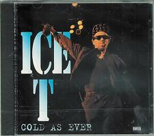 ICE T - Cold as Ever / Neuware, new, OVP, still SEALED / Supergeiler Hip Hop ! !
