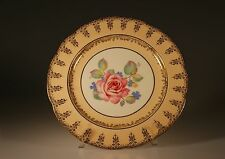 Paragon Cake Plate with Pink Roses , Made In England