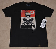 NEW! GEARS OF WAR 3  O.G. Slick Dissizit T-Shirt BLACK Large L Lancer OMEN LOGO