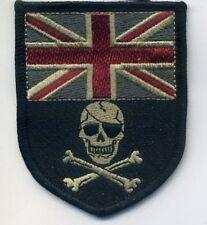 KANDAHAR WHACKER ISAF JSOC UK SAS INFIDEL SSI: UK FLAG CALICO JACK JOLLY ROGER