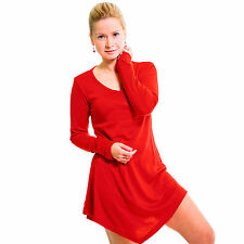 Eskaay Womens Long Sleeve Shirt Lightweight Soft Casual Evening Summer Tunic Top