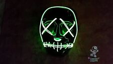 THE PURGE Election Year Movie RaveParty Festival Halloween Costume Handmade Mask