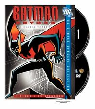 BATMAN BEYOND : COMPLETE SEASON 3 (DC Comics) - DVD - UK Compatible -sealed