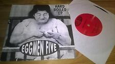"""7"""" Punk Eggmen Five - Hard Boiled EP (4 Song) PRIVATE PRESS"""