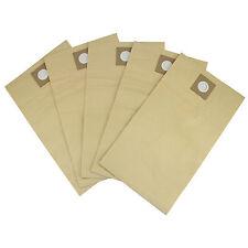 Aspiradora Hoover Polvo Bolsas de papel 5 Pack reemplazos MaxBlast Vac 80 litros